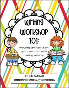 This product is packed with resources for setting up and running writing workshop in your classroom! Included are:*Tips and pictures for organi...