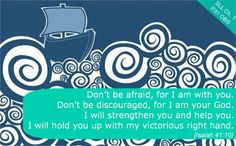 Chapter 1 Reflection Verse~ Isaiah 41:10