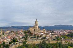 Segovia - Spain - Segovia Cathedral - Spain