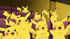 These Pikachus Believe in You!