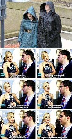 Jennifer Lawrence talking about Mockingjay. Hunger Games Cast, Hunger Games Fandom, Hunger Games Humor, Hunger Games Catching Fire, Hunger Games Trilogy, Jennifer Lawrence Funny, Jennifer Lawrence Hunger Games, Jenifer Lawrence, Katniss Everdeen