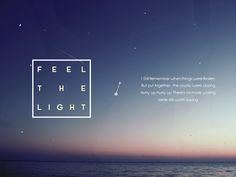 감성적 우주 별빛 파워포인트 템플릿. 보라색, 노란색 톤 아름다운 밤하늘 PPT 디자인, Starlight - Feel the Light