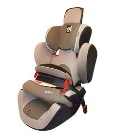 This award-winning, German engineered car seat is host to top of the line safety features such as the LATCH (Lower Anchors and Tethers for Children) frontal impact protection shield and triple-layer side impact padding that protects the head, mid-section and hip areas should an accident occur. Approved by the FAA for use in aircrafts, the World Plus was designed to accommodate growing children. Its 12-position head rest, integrated diagonal belt guide for proper positioning and two-way…