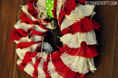 A Country Christmas - See more stunning DIY Chrsitmas Wreath ideas at DIYChristmasDecorations.net!