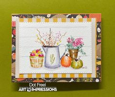 All Personal Feeds Watercolor Design, Watercolor Paper, Tombow Markers, Art Impressions Stamps, Fall Birthday, Decorated Jars, Flower Stamp, Thanksgiving Cards, Ship Lap Walls