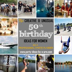 75 Creative Birthday Ideas for Women by a Professional Event Planner - April 15 2019 at 50th Birthday Presents, Cute Birthday Gift, 50th Party, 40th Birthday Parties, Birthday Woman, Happy Birthday, Birthday Celebrations, Themed Parties, Creative Birthday Ideas