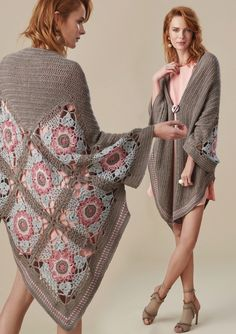 Summer Patterns, Crochet Poncho, Summer Tops, Bohemian, Spring, Sweaters, Discussion, Dresses, Service