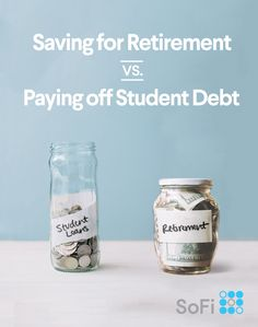 Should you save for retirement or pay off student loans? We have fast finance tips to help you balance both— get out of student debt while still planning for your future.