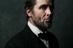 """Billy Campbell as Abraham Lincoln. """"Killing Lincoln"""", National Geographic Channel by Joey L"""