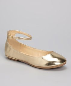 cb3cea55ea6f gold flats for kids - Google Search Girls Flats