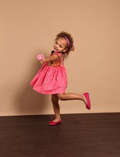 """Dancing little """"lady in pink!"""""""