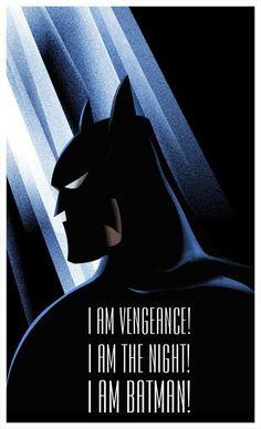 I Am Batman Art Print