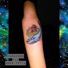 ares tetik darkcore tattoo oldschool tattoo whale ship wanderlust adventures