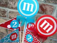 center piece idea for Mia's brithday party