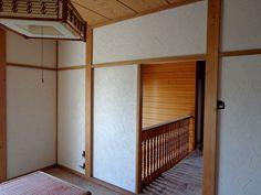 和室壁を「珪藻土」で塗り替え。壁にはデザインもあり、オシャレです。