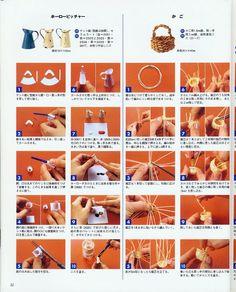 DIN A4 Anleitungen / viele  ! Kanne / Korb gewickert Album – Google+