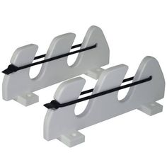 2 Rod Gunwale Mount Rod Holder With Bungee