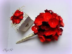 Bellavida / Marry me Marry Me, Paper Flowers, Bobby Pins, Bouquet, Hair Accessories, Beauty, Beleza, Bouquets, Cosmetology
