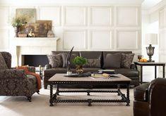 Tarleton Sofa, Justin Chair, Cordova Tables   Bernhardt