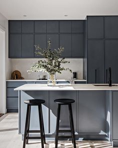 French Home Decor .French Home Decor Home Decor Kitchen, New Kitchen, Home Kitchens, Design Studio, Küchen Design, Home Interior, Interior Design Kitchen, Interior Styling, Floor To Ceiling Wardrobes