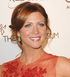 Brittany Snow Red Hair Color | Brittany Snow's updo hairstyles | SheKnows CelebSalon