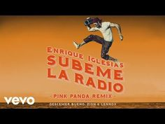 SUBEME LA RADIO (Pink Panda Remix) (Lyric Video) - YouTube Enrique Iglesias, Pink Panda, Videos, Youtube, Lyrics, Movie Posters, Movies, Dance, Films