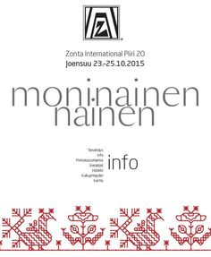 Zonta.fi - Jäsenille / Piirikokous Joensuu 24.-25.10.2015 Finland, Conference, Boarding Pass