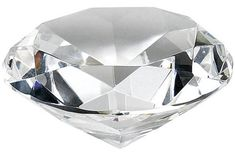 Paperweights Sparkling Diamond Cut Shape Personalised Engraving Free Gift Boxed