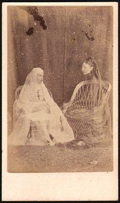 La Nonne et le Fantôme. Ca. 1870