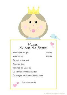 Freebie: Kostenlose Muttertagsurkunde für Kinder - ausdrucken, ausfüllen und fertig ist die Geschenkidee zum Muttertag!