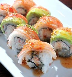 CK special sushi roll at Sushi Ya in Logan. (Photo by Eli Lucero)