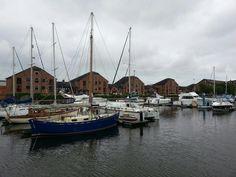 Hull Marina as seen from Holiday Inn Hull Marina. Very picturesque!