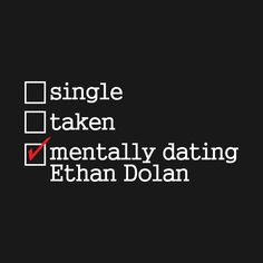 Check out this awesome 'Ethan+Dolan+Twins+Dating' design on @TeePublic!