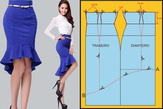 Amazing Sewing Patterns Clone Your Clothes Ideas. Enchanting Sewing Patterns Clone Your Clothes Ideas. Skirt Patterns Sewing, Clothing Patterns, Fashion Sewing, Diy Fashion, Sewing Clothes, Diy Clothes, Costura Fashion, Pattern Draping, Diy Kleidung
