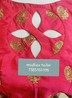 New Ideas Dress Pattern Indian Blouse Designs Kurta Designs, Salwar Neck Designs, Saree Blouse Neck Designs, Simple Blouse Designs, Kurta Neck Design, Stylish Blouse Design, Dress Neck Designs, Designs For Dresses, Neckline Designs