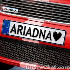 Nombre Ariadna / Name Ariadna / Ariadna / nombre / name / auto / car / patente
