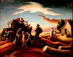 Another awesome painter. Thomas Hart Benton was a major American artist from Missouri. His paintings are famous for . American Realism, American Artists, Martha's Vineyard, Thomas Hart Benton Paintings, Anton, Art Thomas, Cg Art, Art Moderne, Portraits