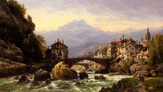 Charles Euphrasie Kuwasseg, Jr.: An Alpine Village