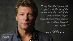 Jon Bon Jovi (Master Class)