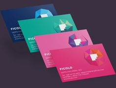 Ficolo Business Cards by Mikael Kivelä