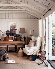 inspired.......the little garage turned studio.....