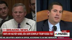 Rachel Maddow shares a report from the Washington Post that the Republican chairmen of the House and Senate Intelligence Committees have been trying to wave reporters off the story of the connection between the Trump campaign and Russia, which they're ...