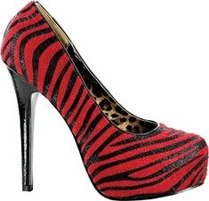 red, zebra print, AND leopard print?! I'm yours