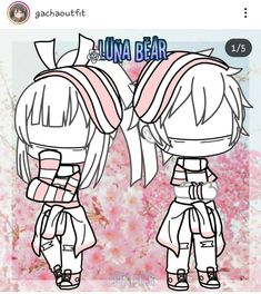 The title says it itself but I think this would be a good outfit for brothers, maybe even twins? You decide^^ Twin Outfits, Couple Outfits, Club Outfits, Couple Clothes, Manga Clothes, Drawing Clothes, Clothing Sketches, Cute Anime Chibi, Anime Life