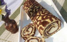 Retete Culinare - Rulada cu crema de nuca de cocos