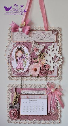 SCRAP-lanak GANBARAN: Marvelous Magnolia BIRTHDAY DT Project