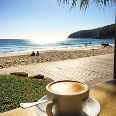 If only all coffee breaks looked like this! Enjoying the sunshine and views of Noosa Main Beach as well as a delicious coffee from Berardos Bistro on the Beach is exactly what we'd like to be doing right now!