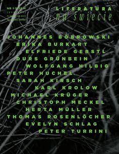 Literatura na Świecie, 1-2/2014 Poeci niemieccy