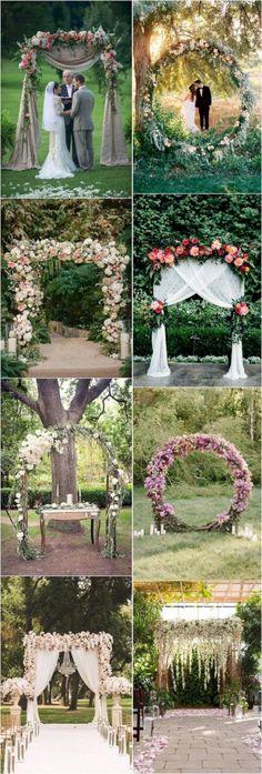 amazing 17 Genius Outdoor Wedding Decoration Ideas #weddingdecoration #weddingideas