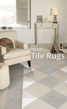 Tile Rugs - a great trend for your home!